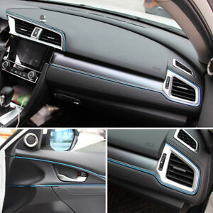 Car Styling Interior Mouldings Trim 3d Line Strips Dashboard Decor