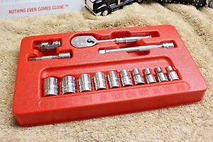 Snap On 114atmp 14 Pc 6 Point Sae General Service Set