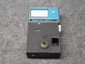 Bausch Lomb Spectronic Mini 20 Portable Spectrophotometer tested