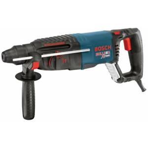 Bosch Rotary Hammer Sds plus 8 amp Keyless Plastic Blue Quick Power Tool New