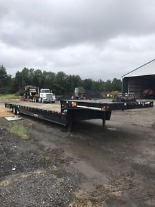 2003 Trail King Hydrualic Dove Tail Trailer