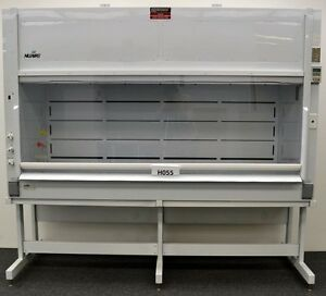 8 Nuaire Chemical Laboratory Fume Hood W Base Stand Included