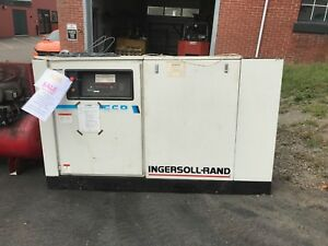 Ingersoll Rand Ssr ep50 Electric Rotary Screw Air Compressor 460v 241cfm 3ph