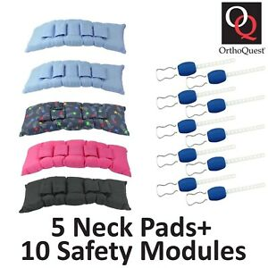 5x Dental Orthodontic Orthoquest Cervical Neck Pad Safety Modules Choose Color