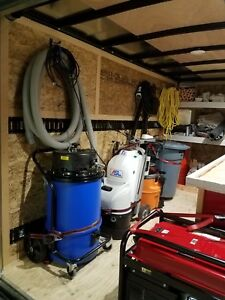 Garage Flooring Equipment Trailer Grinder Vacuum Small Equipment