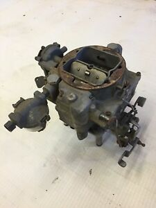 Carter Wcfb 2622s C7 Carburetor 57 58 Dodge Hemi Power Pack Mopar Desoto 4bbl