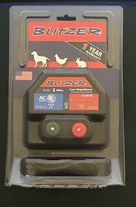 Zareba 5 Mile Electronic Fence Controller Ea5 bl New In Package