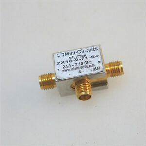 1pc Mini circuits Zx10 2 71 s 2 95 7 10ghz Rf Sma One two Splitter