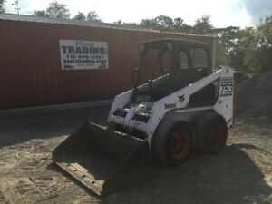 2002 Bobcat 753g Skid Steer Loader