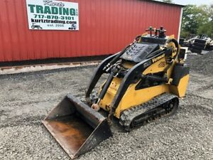 2006 Vermeer S600tx Tracked Skid Steer Loader W New Tracks Bucket And Forks
