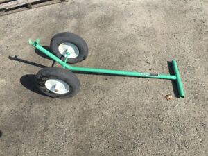 3 Garlock Roofing Equipment Flat Free Tires Roofing Dolly Green Carts