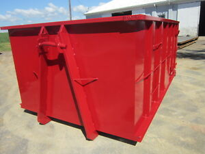 15 Yard Hooklift Rolloff Dumpster Containers