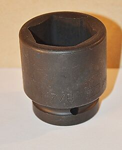 1 7 8 Inch Armstrong Usa 1 Inch Drive 6 Point Standard Impact Socket