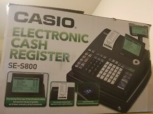 Casio Se s800 Electronic Cash Register as Brand New In The Box
