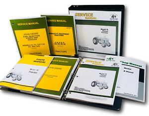 Master Service Parts Manual For John Deere R Diesel Tractor Catalog Shop Book