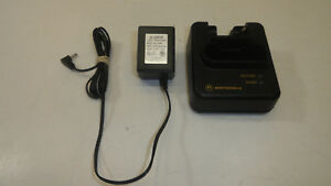 Gg9 Lot Of 4 Motorola Pager Minitor Iii Iv 3 4 Charger Nyn8346b Nyn8354b