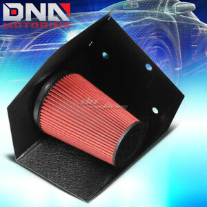 Black Wrinkle Finished Cold Air Intake Heat Shield For 94 02 Dodge Ram 5 9l