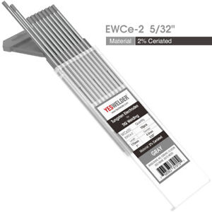 Tig Welding Tungsten Electrode 2 Ceriated gray Wc20 5 32 x7 10 pk