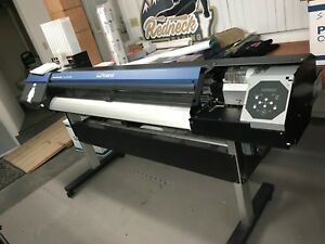 Roland Versacamm Vs 540 Vs 540 Print Cut Eco Solvent Printer In Good Condition