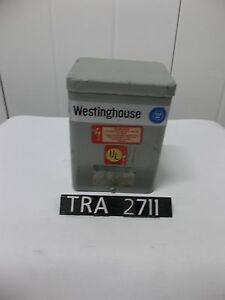 Westinghouse 1 Kva T6e193 Pri 240 480 Volt Single Phase Transformer tra2711