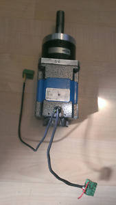 Kollmorgen Silverline Servo Motor H 344 h 0200 With Neugart Gear Head Ple80