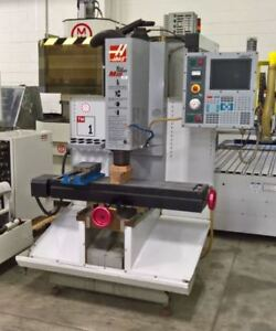 Haas Tm1 Cnc Vertical Mill Lmc 45729