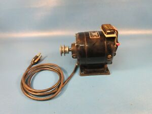 Used Bodine Electric Motor Nse 33 1 10 Hp 1 6 Amp Motor Only No Gear