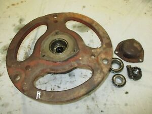 Ih Farmall H Super H Front Wheel Hub With Bearings Cap Antique Tractor