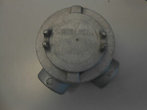 Crouse Hinds Gua Outlet Box For Hazard Location 2