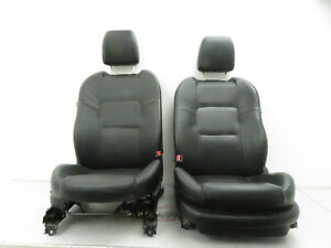2006 2007 Mazdaspeed Mazda 6 Speed Front Seat Pair Left Right Black Leather Shf
