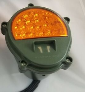 New Led Hmmwv Turn Signal Light Amber M998 Humvee M35 Military 5 Ton 2 5 Ton