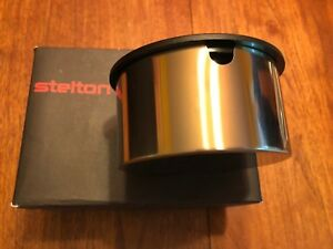 Stelton Sugar Bowl Erik Magnussen Chrome With Black Cover New In Box Modern