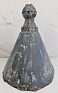 Antique Victorian Style Tin Turret Roof Finial C 1880 Architectural Salvage