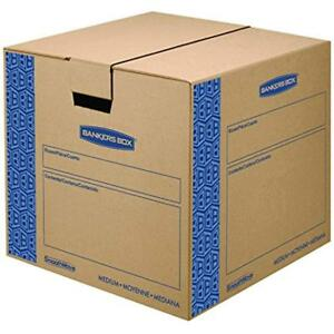 Smoothmove Prime Moving Boxes Tape free Fastfold Easy Assembly Handles 18 16