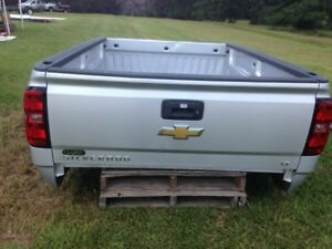 2015 Chevrolet Silverado 2500 Lt 8 Silver Truck Bed With Tailgate