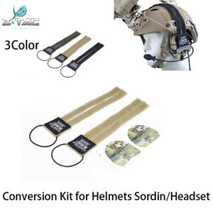 Z TAC Conversion Kit for Tactical Helmets and Zsordin Headset Stickers accessory $14.14