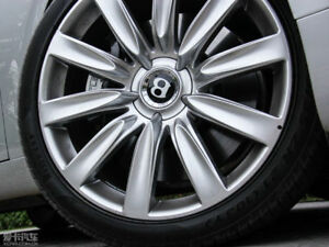 Genuine Bentley Gt Gtc Wheel Center Hub Cap 21 Propeller Wheel Oem New