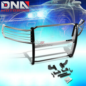 For 09 17 Dodge Ram 1500 Pickup Chrome Stainless Steel Front Grill Guard Frame