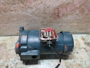 Dynamite Dm4500 Cnc Vertical Mill Coolant Induction Motor Pump Unit 1 19