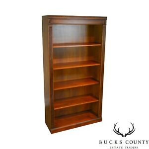 Ethan Allen British Classics Collection Maple Open Bookcase