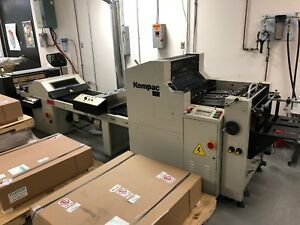 2014 Kompac Kwik Finish 20 Uv Coater With Feeder Stacker