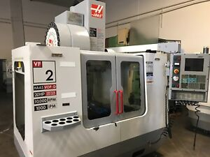 2004 Haas Vf 2d 10 000 Rpm Sidemount Atc Probing P cool Loaded W Options