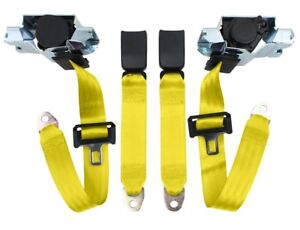 Camaro Seatbelts Oe Style 1993 02 Fronts Only Color 7500 Yellow