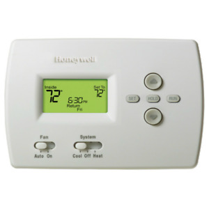Honeywell Pro Programmable 1heat 1cool Standard Display Thermostat Th4110d1007