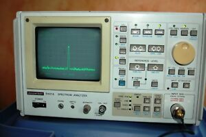 Advantest R4131a Spectrum Analyzer rohde And Schwartz