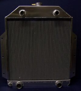 1950 1951 1952 Ford F1 Pickup Truck Flathead Aluminum Radiator Made In The Usa