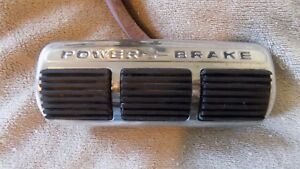 1961 Pontiac Starchief Ventura Catalina Bonneville Power Brake Pedal Nice