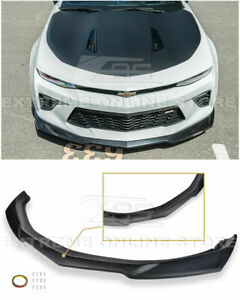 Eos Zl1 Style Front Bumper Lip Abs Lower Spoiler For Chevy Camaro Ss 16 Up