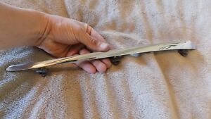 1961 Pontiac Left Ventura Catalina Upper Fender Spear Desert Chrome Western Part