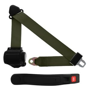 3 Point Retractable Seat Belt With Sleeve Military
